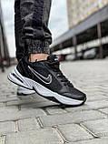 Кросівки чоловічі 18514, Nike Air Monarch, чорні, [ 41 42 43 44 45 46 ] р. 41-26,5 див., фото 6