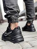 Кроссовки мужские 18515, Nike Air Monarch, черные [ 41 43 44 45 ] р.(41-26,5см), фото 4