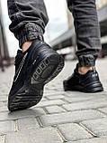 Кроссовки мужские 18515, Nike Air Monarch, черные [ 41 43 44 45 ] р.(41-26,5см), фото 5