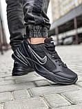 Кроссовки мужские 18515, Nike Air Monarch, черные [ 41 43 44 45 ] р.(41-26,5см), фото 6