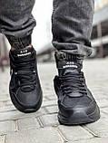 Кроссовки мужские 18515, Nike Air Monarch, черные [ 41 43 44 45 ] р.(41-26,5см), фото 7