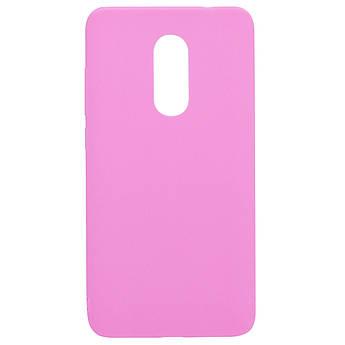 Силиконовый чехол Candy для Xiaomi Redmi Note 4X / Note 4 (SD) Розовый