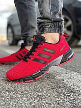 Кроссовки мужские 18531, Adidas Marathon Tr, красные [ 43 ] р.(41-26,8см)