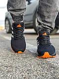 Кросівки чоловічі 18533, Adidas Marathon Tr, чорні, [ 41 42 43 44 45 46 ] р. 41-26,8 див., фото 7