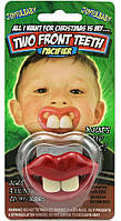 Соска с зубами (2 зуба)