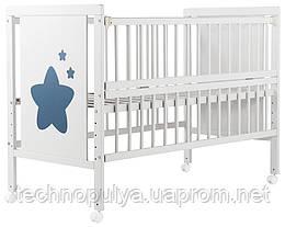 Ліжко Babyroom Зірочка Z-01 Бук білий (624466)