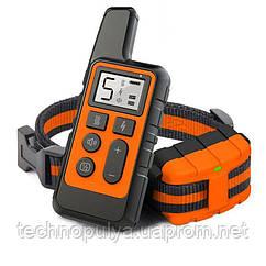 Электроошейник для собак дрессировочный Pet DTC-500 водонепроницаемый до 500 м Оранжевый (100616)