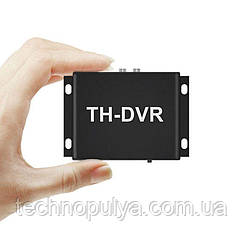 Видеорегистратор на 1 камеру AHD CVBS до 2 Мп Pegatan TH-DVR с пультом ДУ (100585)
