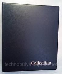 Альбом для монет и банкнот Elit наборной красные листы Черный (hub_26ut22)