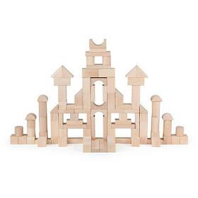 Дерев'яний кубики Viga Toys незабарвлені, 100 шт., 3 см (51623)