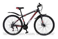Горный Велосипед Champion Spark колеса 29 дюймов, стальная рама 19 дюймов, вес 16кг -