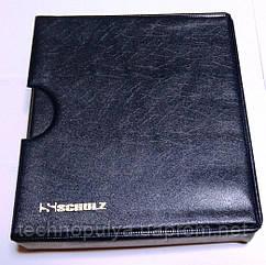 Альбом для монет Schulz 221 ячейка в футляре улучшенный Темно-синий (hub_qk1x5v)