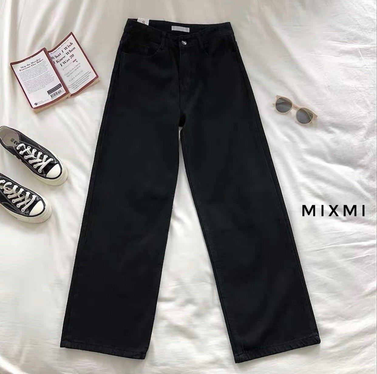 Жіночі штани батал, стрейч - джинс бенгалин, р-р 46-48; 48-50 (чорний)