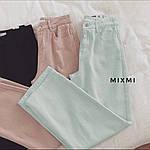 Жіночі штани батал, стрейч - джинс бенгалин, р-р 46-48; 48-50 (чорний), фото 3