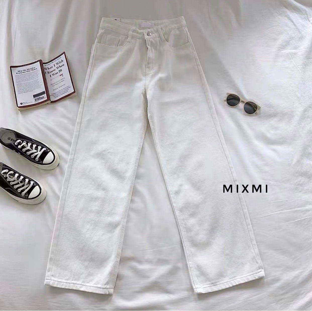 Жіночі штани батал, стрейч - джинс бенгалин, р-р 46-48; 48-50 (білий)