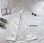 Женские штаны батал, стрейч - джинс бенгалин, р-р 46-48; 48-50 (белый), фото 2
