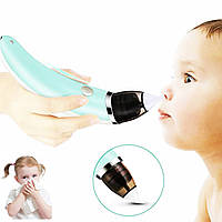 Аспиратор детский Lesko XN-8031 электронное вакуумное устройство для очистки носа многоразового использования