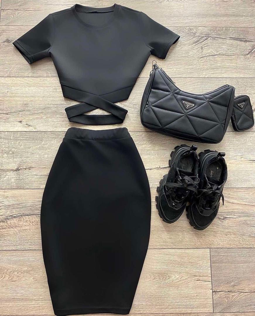 Жіночий костюм, дайвінг, р-р 42-44; 44-46 (чорний)