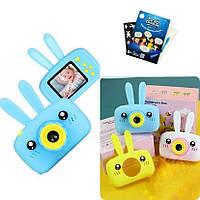 Цифровой детский фотоаппарат Rabbit цвет на выбор в подарок Планшет Рисуй Светом SKL11-276412