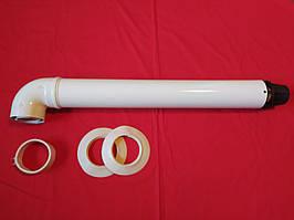 Коаксіальний димохід 60/100 для котла Baxi Beretta Viessmann Westen