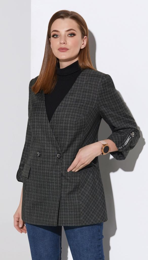 Жакет Lissana-4112 белорусский трикотаж, серый, 50