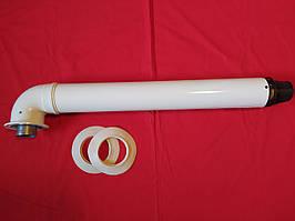 Коаксіальний димохід 60/100 для котла Ferroli Vaillant TurboFIT
