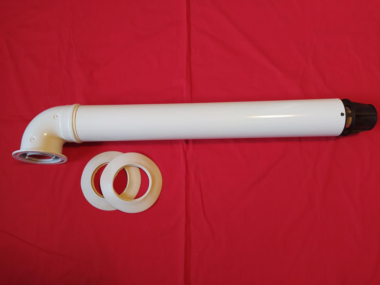 Коаксиальный дымоход 60/100 для котла Fondital Italtherm Protherm Рысь Ягуар