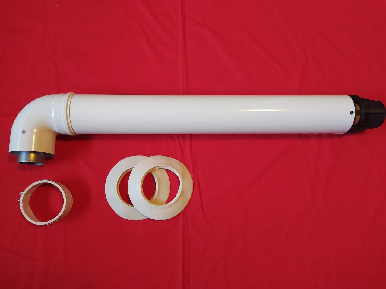 Коаксіальний димохід 60/100 для котла Ariston Vaillant TurboTEC Protherm Пантера Гепард