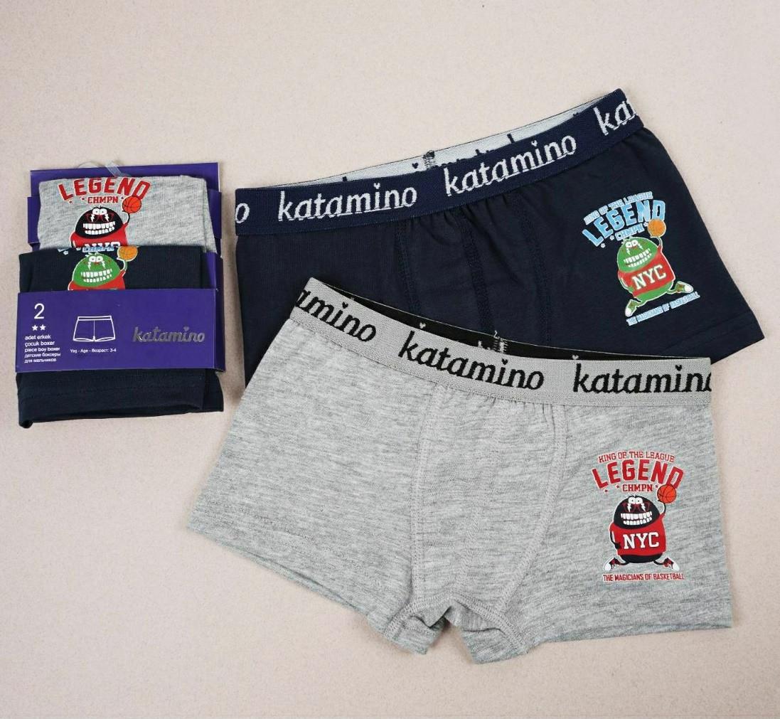 Труси боксерки для хлопчиків 3-4 років katamino