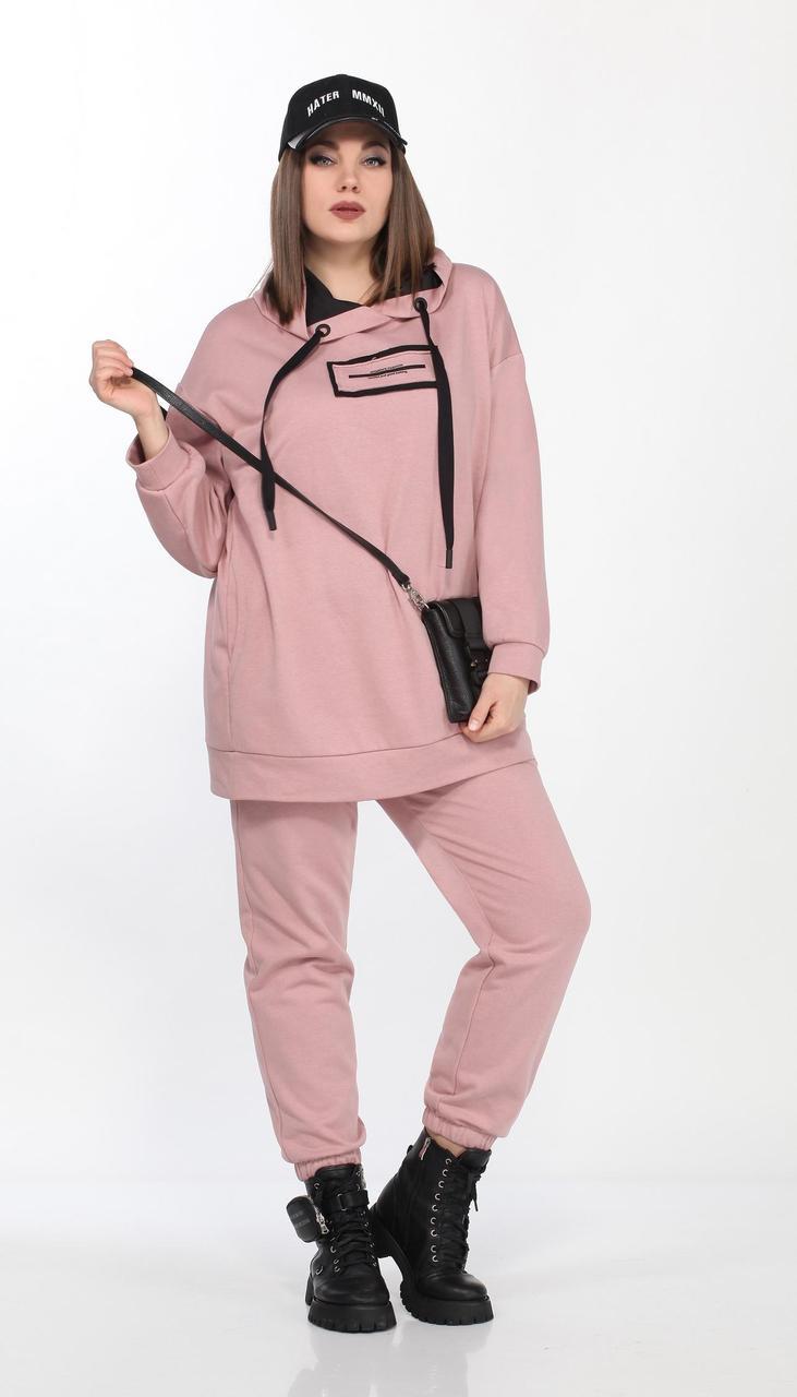 Спортивная одежда Lady Secret-2736 белорусский трикотаж, розовый , 50