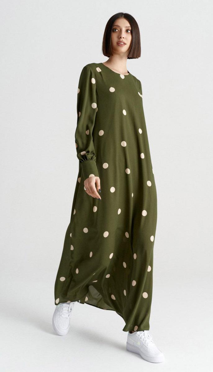 Сукня Beauty-3734 білоруський трикотаж, зелений, 42