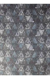 Ковер современный ALMINA 118595 1,6Х2,3 Серо-голубой прямоугольник