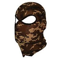 Балаклава маска камуфляжная с переносицей