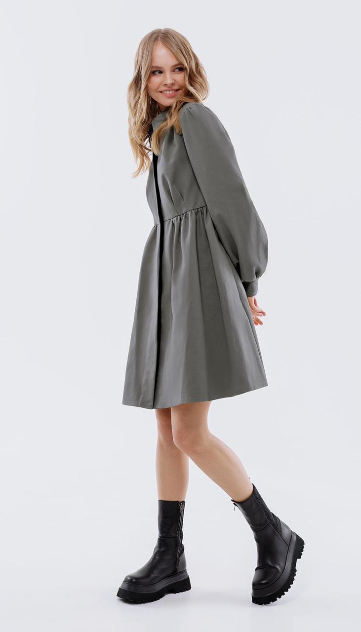 Платье PiRS-2514/1 белорусский трикотаж, графит, 40