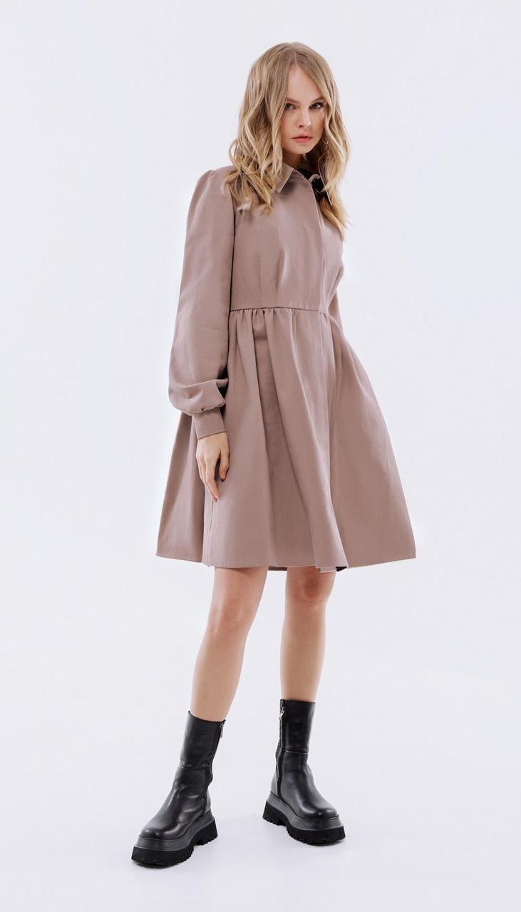 Платье PiRS-2514/2 белорусский трикотаж, пыльный розовый, 40