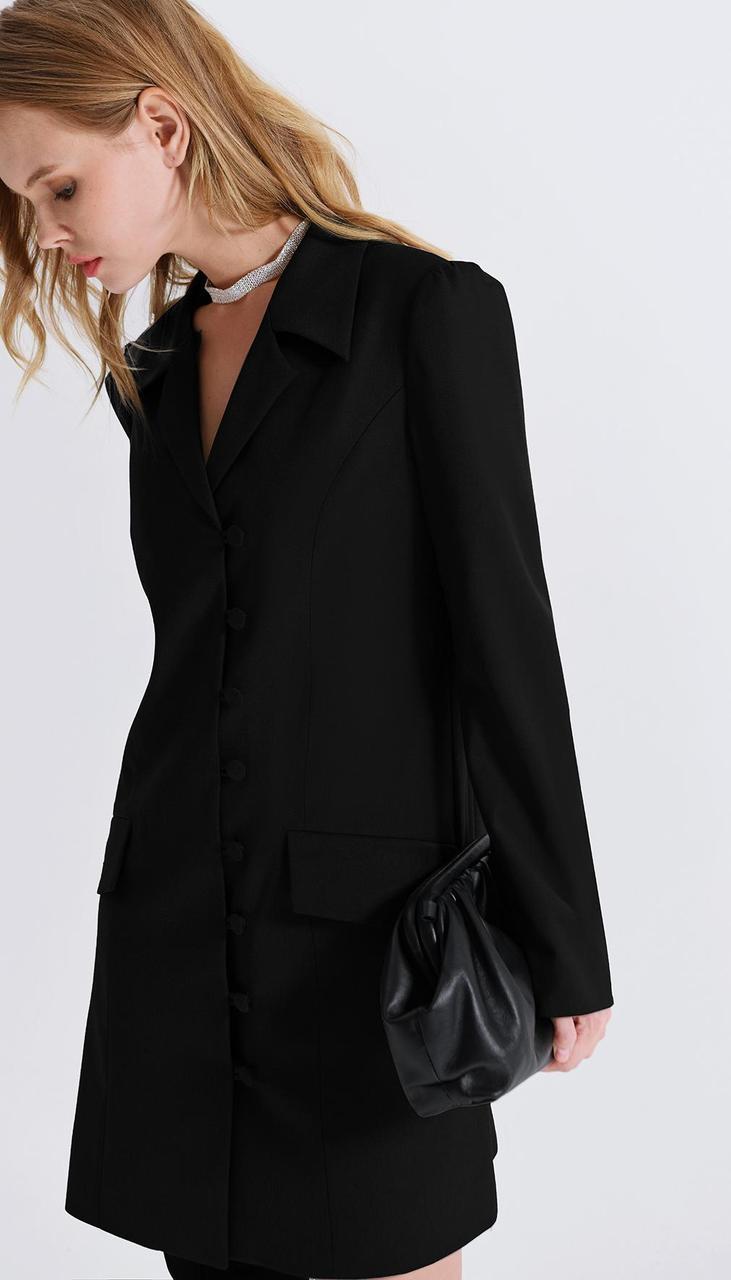 Сукня PiRS-2279/3 білоруський трикотаж, чорний, 40