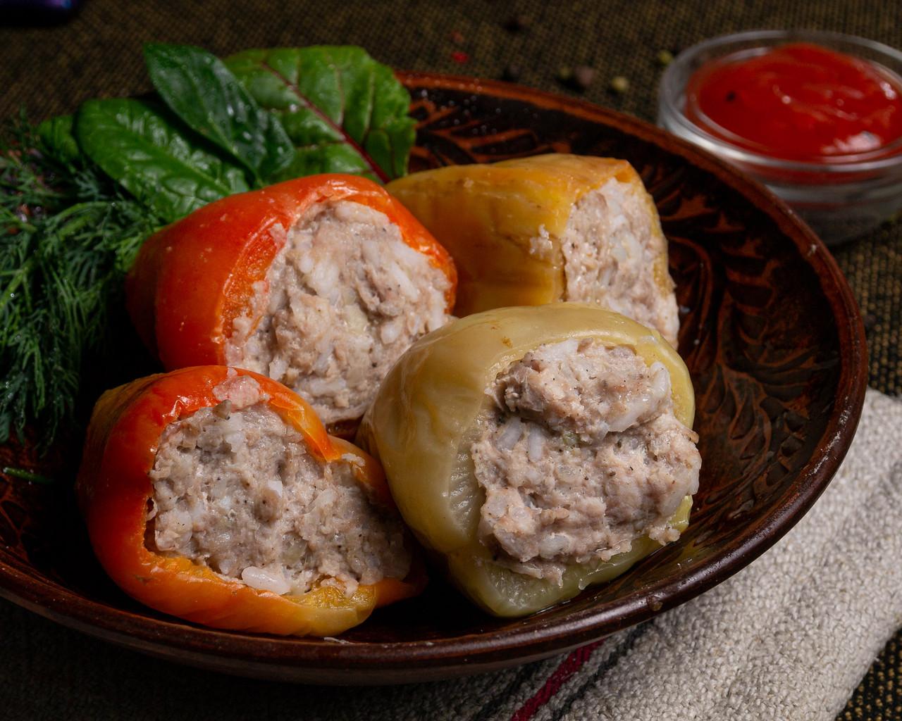 Перцы фаршированные с мясом