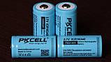 Аккумулятор PKCELL ICR16340 700mAh 1.4A Li-Ion 500 циклов (Не CR123, а Литий ионный Перезаряжаемый RCR123A!), фото 5