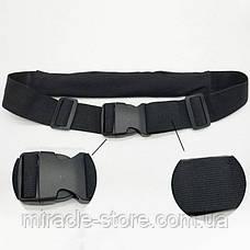 Спортивна сумка на пояс для бігу Go Runners Pocket Belt спортивний пояс для телефону, фото 2