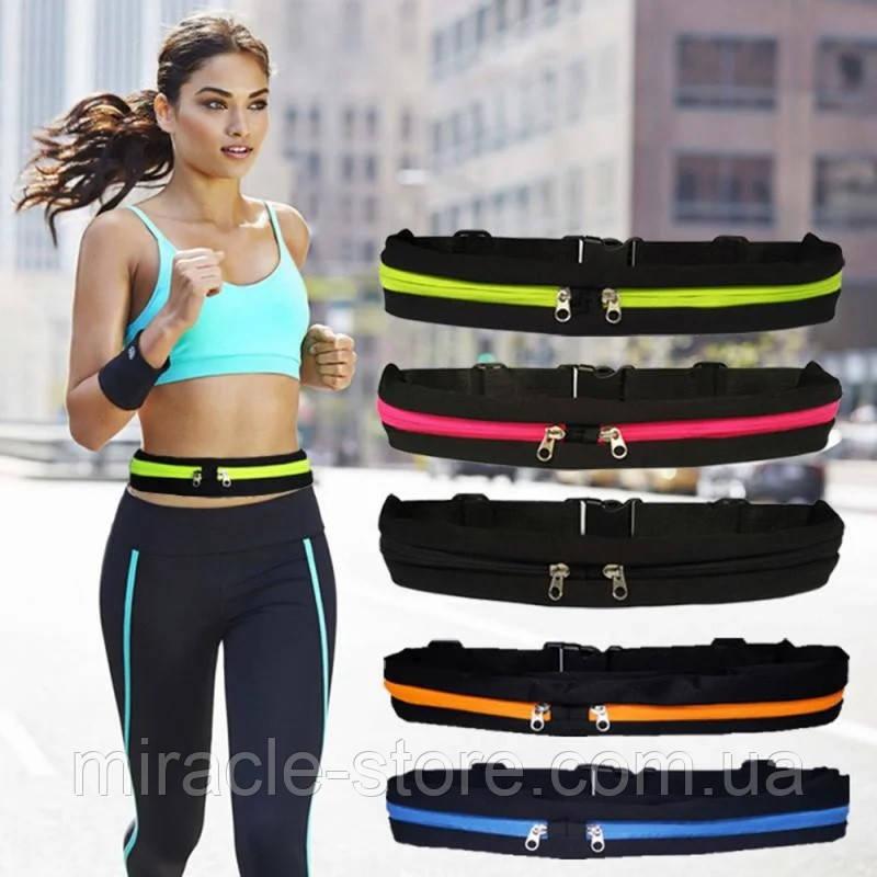 Спортивна сумка на пояс для бігу Go Runners Pocket Belt спортивний пояс для телефону