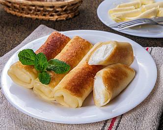 Блины со сладким сыром
