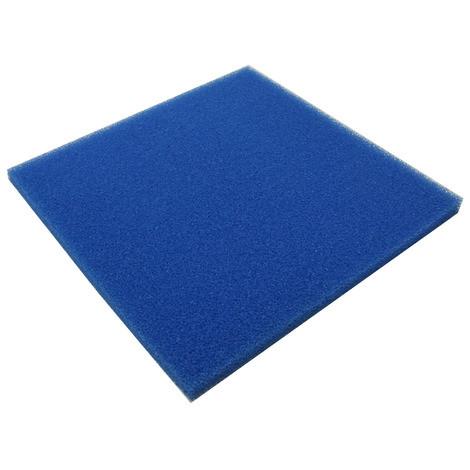 Фильтрующий материал Губка 50х50х5см Мочалка Поролон Коврик JBL крупнопористая 10ppi