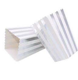 """Коробочка для попкорна """"Silver stripes"""" (1 шт.)"""