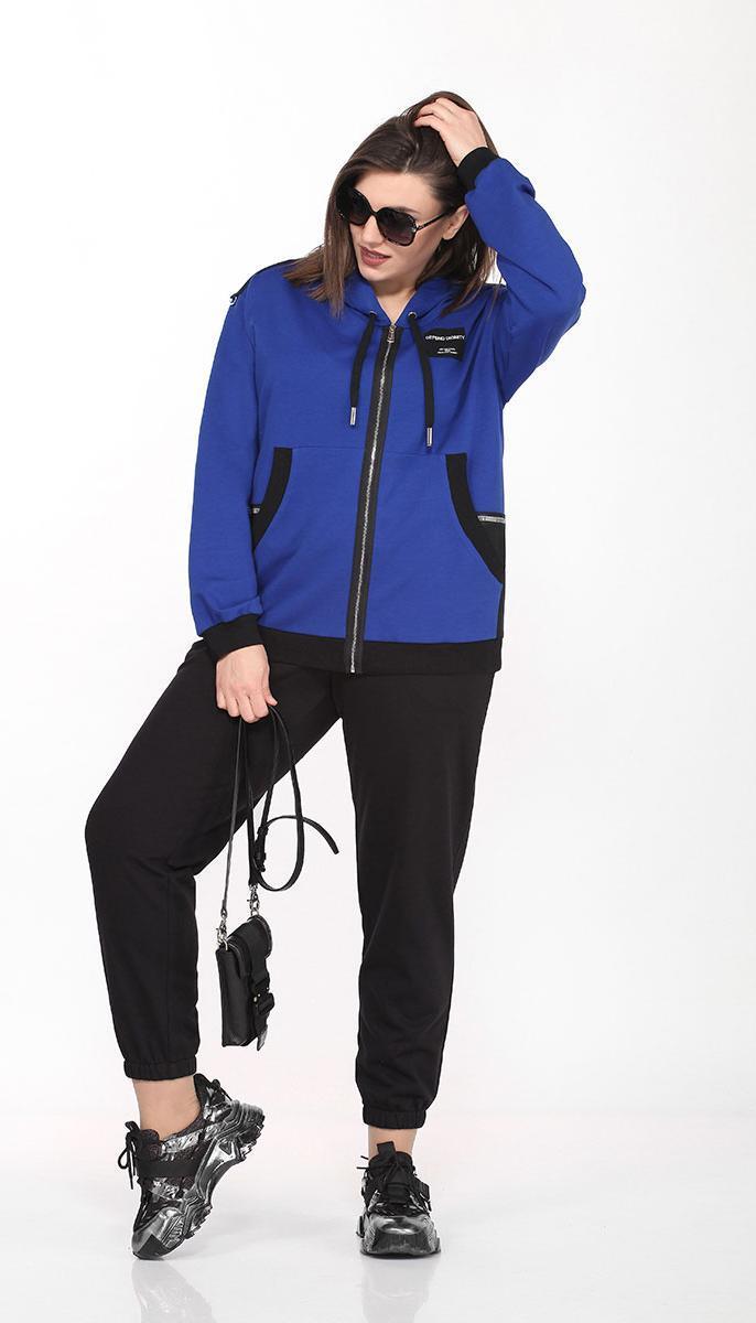Спортивная одежда Lady Secret-2744 белорусский трикотаж, василек, 50