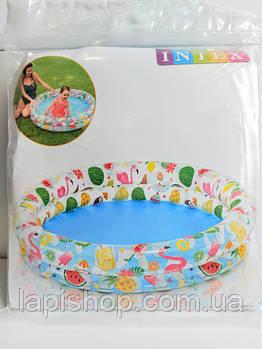 Детский надувной бассейн Intex размером 122х25см 59421