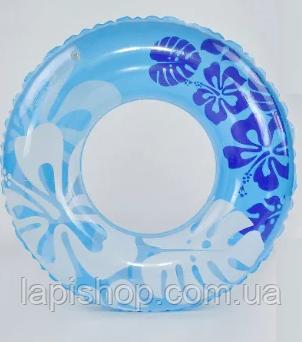 Круг для плавания 60см голубой 29090