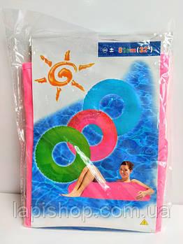Круг надувной для плавания Неон 81см Розовый F 21561