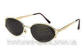 Женские очки-тренажеры в металлической оправе