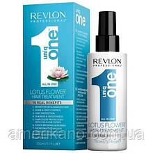 Спрей для відновлення і живлення волосся Revlon Professional Uniq One All-in-One Lotus Hair Treatment 150 мл