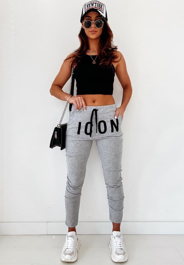 Спортивные модные женские штаны Весна - лето тренд 2021 от производителя